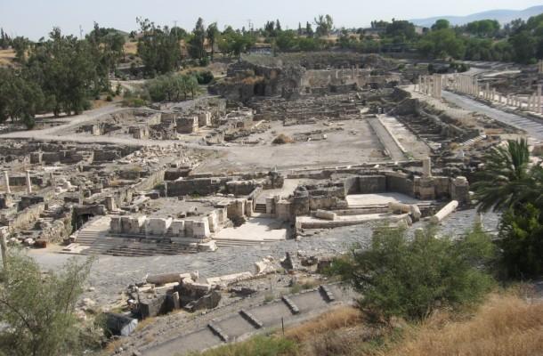 Trois jours autour de Beth Shean en Galilee