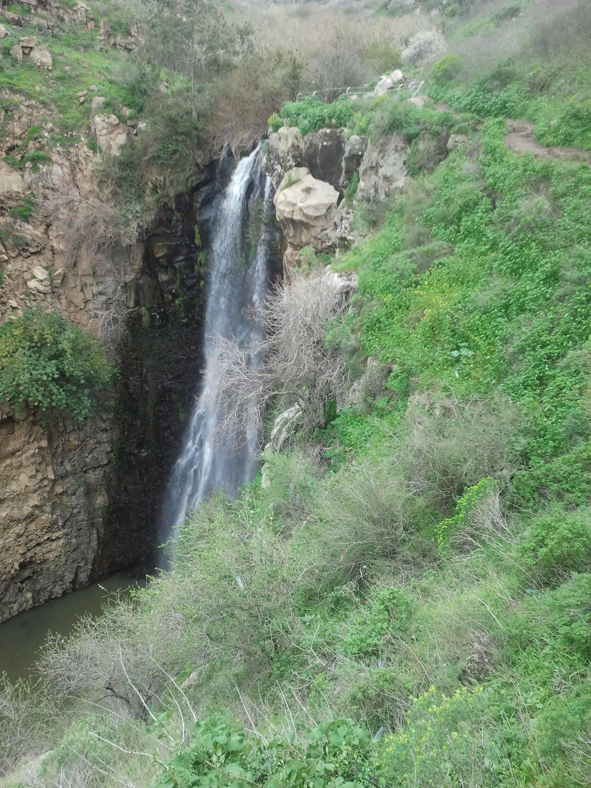 Cascade du Golan